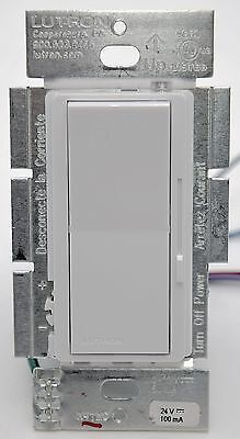 Lutron Diva DVCL-153P-WH 3-Way CFL/LED Wall Dimmer Light Switch 150w slide WHITE