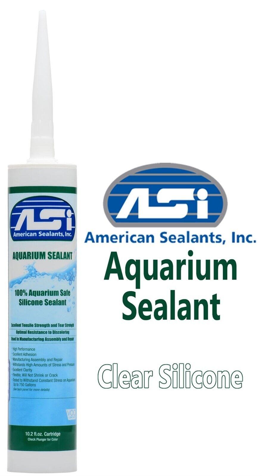 Silicone Sealant Aquarium Terrarium Tank Safe Repair 10 Oz Clear Adhesive - $11.92