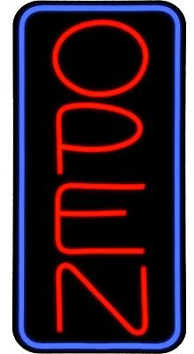 Large Led Open Sign Red Blue 24x12 Very Bright Bd24b-1 Plus Remote