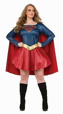 SUPERGIRL TV SHOW DELUXE ADULT PLUS - Supergirl Show Kostüm