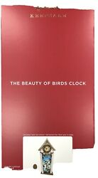 Beauty Of Birds Tabletop Clock Hallmark 2020 PRESALE VHTF Spectacular!!! NR