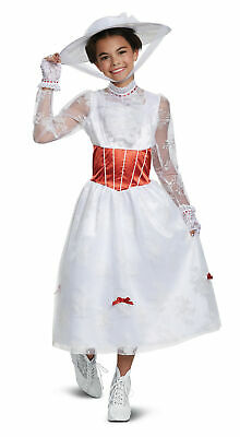 Mary Poppins Costume For Girl (Deluxe Mary Poppins CHILD Girls Costume)