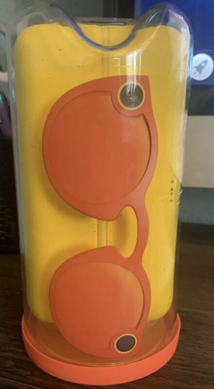 OPEN BOX! SNAPCHAT SPECTACLES GLASSES CORAL OPEN BOX IN A GOOD CONDITION