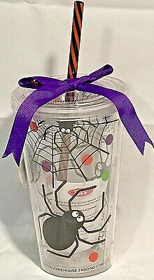 Boston Warehouse 16oz Double-Wall Insulated Halloween Tumble