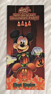 Mickey Not So Scary Halloween Magic Kingdom (Walt Disney World Magic Kingdom Guide Map-2013-Mickey's Not So Scary Halloween)