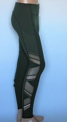 Lululemon 6 Speed Up Tight Mesh Camo Green Olive Reflective Luxtreme Pants NWT