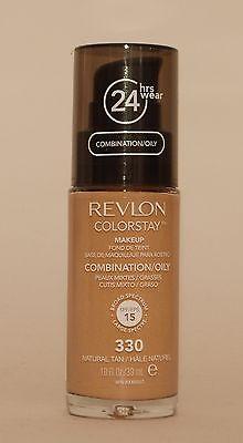 Revlon ColorStay MakeUp 330 Natural Tan Oily Skin PUMPE 30 ml