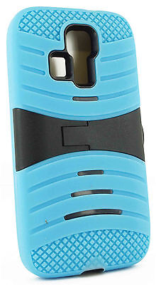 For Kyocera Hydro Life C6530 Heavy Duty Protective Hybrid Kickstand Case Cover on Rummage