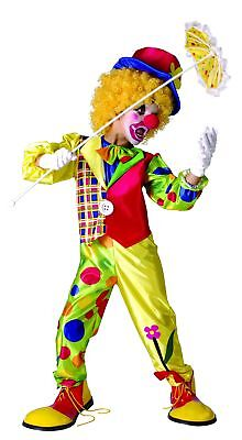Kinder Clownkostüm für Jungen bunt Cod.221912