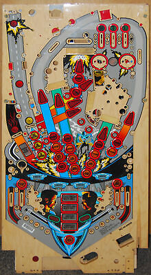 Williams Demolition Man - Pinball Playfield NOS