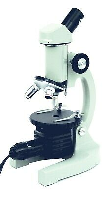 Walter Products Compound Microscope 40-400x Kids Monocular Beginner Microscope