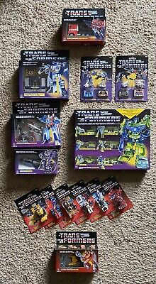 2018-2020 HASBRO TRANSFORMERS G1 WALMART EXCLUSIVE REISSUE COMPLETE COLLECTION