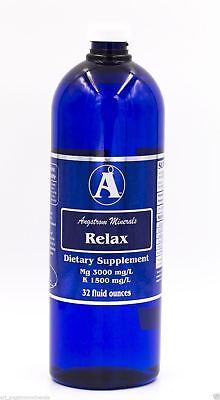 Liquid Magnesium Blend - Relax 32oz. - Liquid Mineral Blend