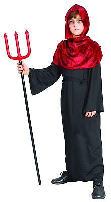 Jungen Teufel schwarz-rot Cod.221939 (Teufel Kostüm Für Jungen)