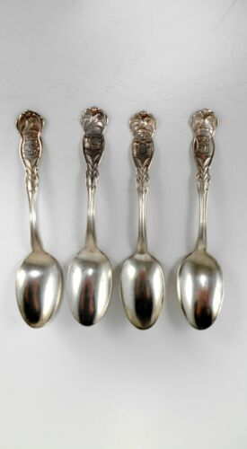 4 Wm Rogers & Sons 1915 State Spoons