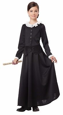 Susan B  Anthony Harriet Tubman 1800S Colonial Historical Child Costume