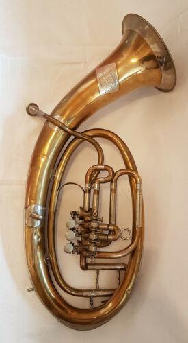 V F Cerveny & Sohne rare Vintage Tenor Horn Trumpet Tuba Bugle Cornet Baritone