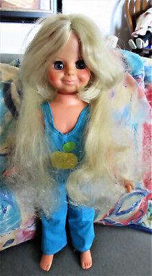 "Vintage Ideal Crissy 16"" blond hair doll"
