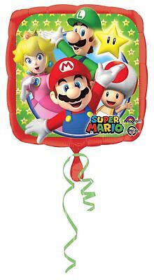 Super Mario Bros Folienballon 17 Party Feier