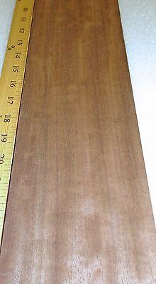 Bubinga Smoked Figured Wood Veneer 4.5 X 25 Raw No Backing 142 Thickness A