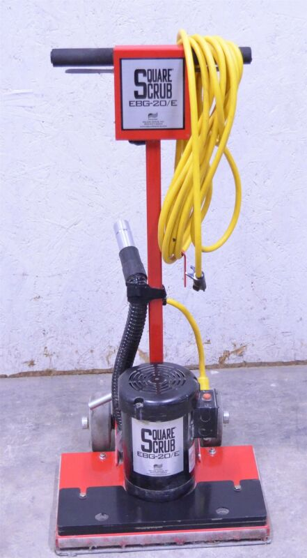 "Square Scrub EBG-20/E Orbital Floor Stripper Scrubber Machine 14x20"" 1"