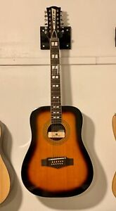 12 string acoustic guitar EKO Seymour Duncan pick up