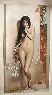 Ölbilder Ölgemälde Gemälde von  Lefebvre 40cmx80cm