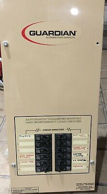 Generac Guardian 12-circuit Automatic Transfer Switch With Breakers