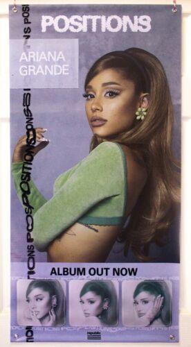 "Ariana Grande ""Positions"" Vinyl Banner (100 x 50) Album Promo Poster 2020 34+35"
