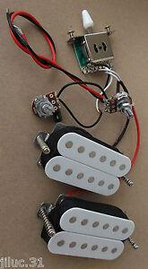 New KIT HH 2 humbuckers & électronique pour guitare HH