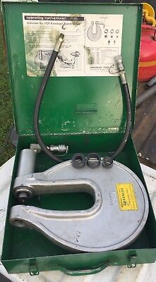 Greenlee 1731 One Shot Hydraulic Knockout Punch Driver Wcase 1-2079