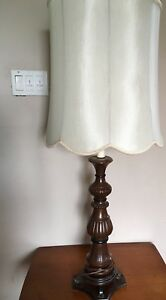 Vintage Lamp - Solid Wood