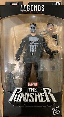 Marvel Legends 80th Ann Anniversary Skull Face Punisher figure in stock New