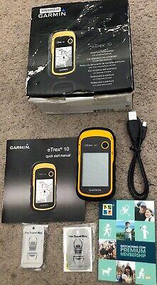 Garmin eTrex 10 Handheld Outdoor Hiking GPS Receiver
