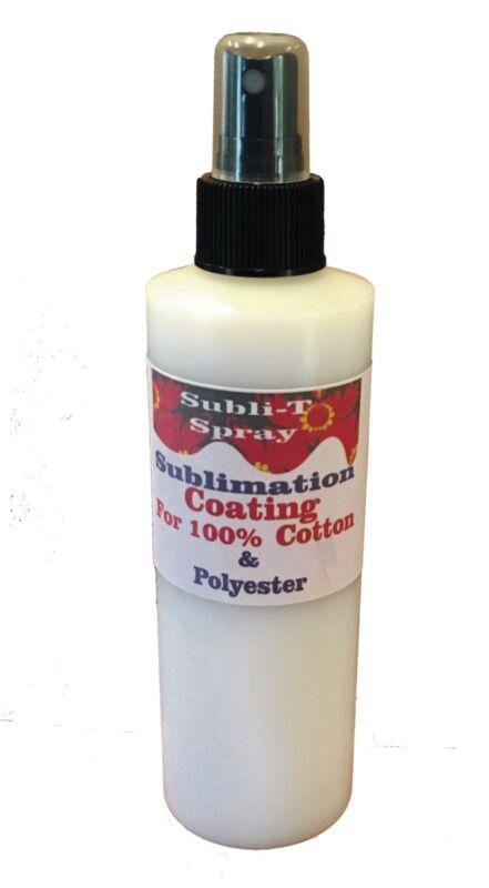Sublimation Coating for 100% Cotton T-SHIRTS 4 oz sample