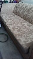 GOLDEN BROWN SOFA FOR SALE