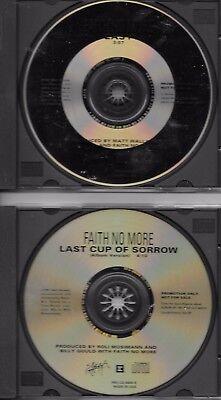 FAITH NO MORE  2 promotional cd singles  CHUCK MOSLEY