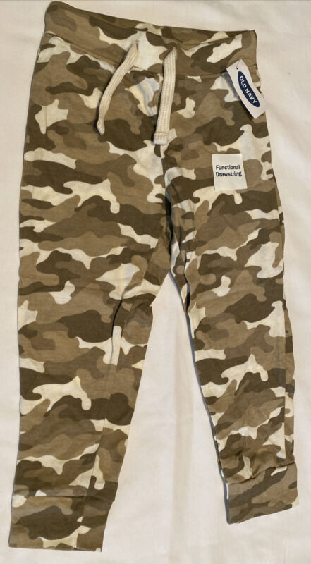 Old Navy Baby Toddler NWT Camo Drawstring Pants size 3T