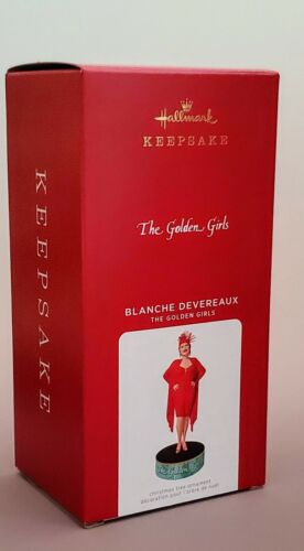 2021 Blanche Devereaux The Golden Girls CHRISTMAS KEEPSAKE ORNAMENT