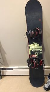 Firefly snowboard 161cm with bindings