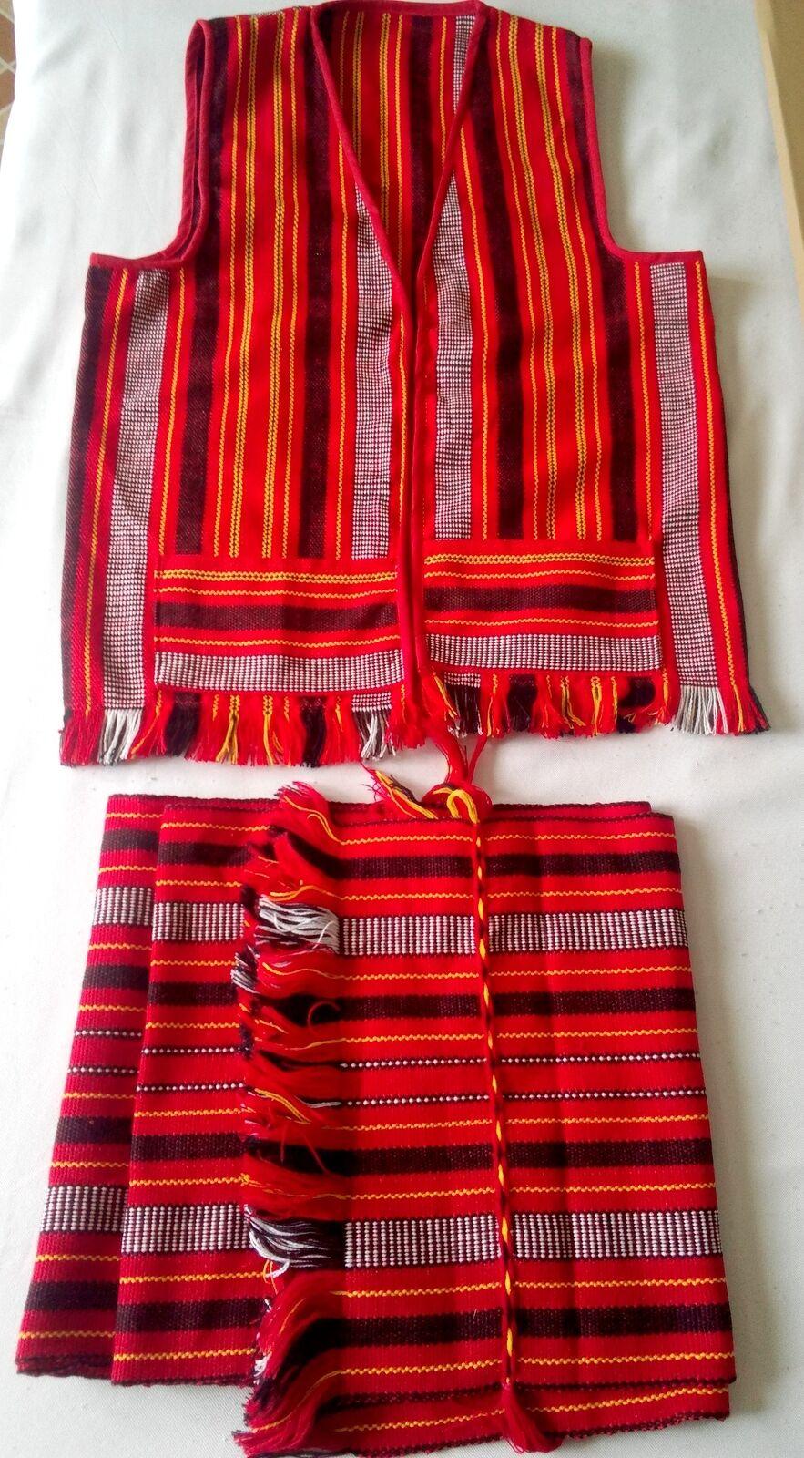 Loincloth Bahag Amp Vest Ifugao Igorot Handwoven Fabric