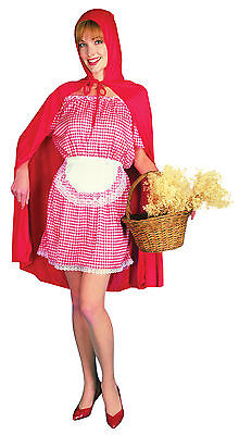 Ladies Little Red Riding Hood Fancy Dress Costume Childrens Fairytale Outfit UK  - Childrens Halloween Costumes Uk
