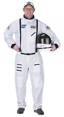 Astronaut Erwachsenen Herren-Kostüm Weiß Businesskleid Beruf Fach Aeromax 30