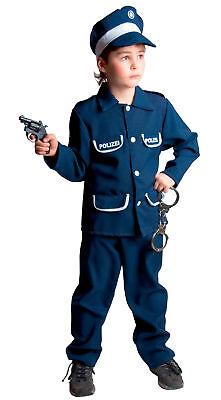 Polizist Uniform Polizeianzug Kinder Polizei Kostüm - Polizei Anzug Kostüm