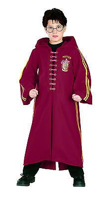 Harry Potter Deluxe Quidditch Robe für Kinder - Kostüm Fasching Halloween NEU