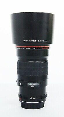 # Canon EF 200mm f/2.8L II USM Telephoto Fixed Lens S/N 101417