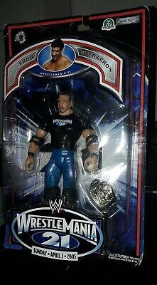 wwe Action Figure Eddie Guerrero Wrestlemania 21. Spedizione Gratuita