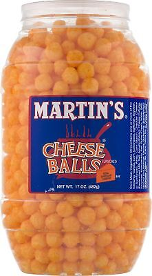 (Martin's Cheese Balls Real Cheddar Cheese Flavored)