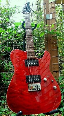 1994 Tom Anderson Hollow Cobra T Cajun Red with Binding - With Hardshell Case
