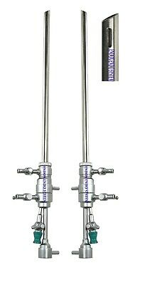Hysteroscopy 8mm Batoochi Operative Sheath In Out Flow 5 Fr Inst Channel 2pc